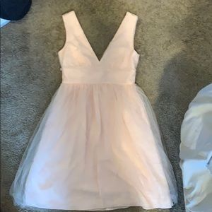J Crew light pink dress